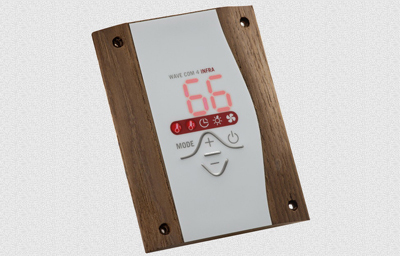 Wave.com4 kombi/BIO szauna vezérlés max.9.0/3.0 KW - 120°C hőálló